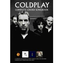 Coldplay Complete Chord Songbook Music Sheet All Songs Original Key Lyrics S126