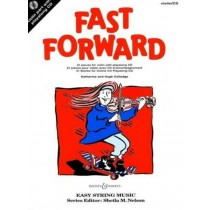 Fast Forward Violin 21 Pieces Easy String Sheet Music Book CD K & H Colledge S20