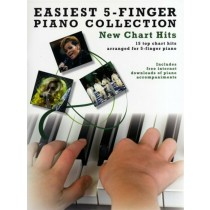 Easiest 5 Finger Piano Collection New Chart Hit Music Book JLS Alex Burke S30