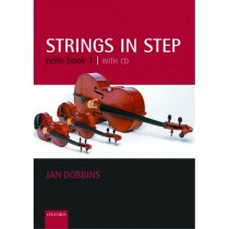 Strings In Step Cello Book 1 & CD Tutor Beginner OUP Sheet Music Jan Dobbins S31