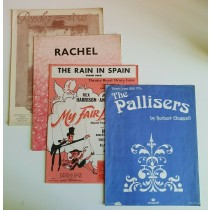 The Rain in Spain The Pallisers Rachel Rendez Vous Piano Sheet Music Mixed S31