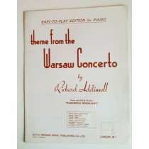 Theme from the Warsaw Concerto Piano Easy Edition Book Richard Addinsell      K9