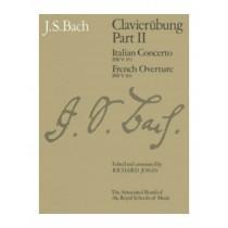 J S Bach Clavierubung Part II Sheet Music Book ABRSM Italian French Concerto S31