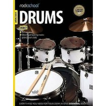 Rockschool Drums Debut Exam 2012-2018 Music Book D/L Backing Tracks S28