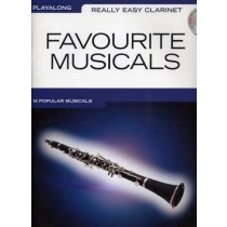 Really Easy Clarinet Playalong Favourite Musicals 16 Songs Sheet Music S120