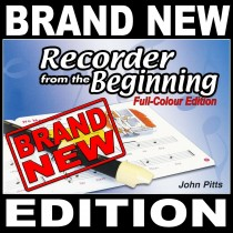 Learn To Play The Recorder From The Beginning Book 1 Tutor Lessons S168