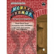 Movie Songs By Special Arrangement Jazz-Style Trombone/Bassoon Music Book S69