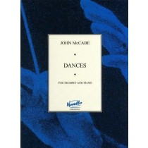 John Mccabe Dances For Trumpet and Piano Novello Sheet Music Book             H2