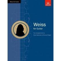 Weiss for Guitar 10 Arr by P. Batchelar & R. Wright ABRSM Sheet Music Book H2