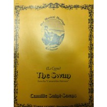 Camille Saint-Saens The Swan from the Carnaval des Animaux Sheet Music Piano H3