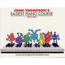 John Thompson's Easiest Piano Course Part 1 Learn to Play Kids Music Book H4