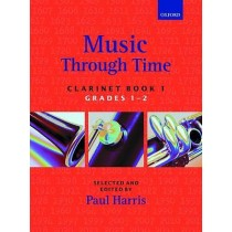 Music Through Time Clarinet Book 1 Grade 1-2 Sheet Music Repertoire Harris B59