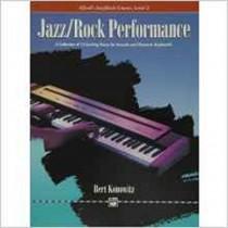 Jazz Rock Performance Level 2 Konowitz Electronic Keyboard Sheet Music Book S157