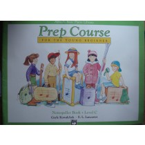 Alfred's Basic Piano Library Prep Course Young Beginner Notespeller Book C B22