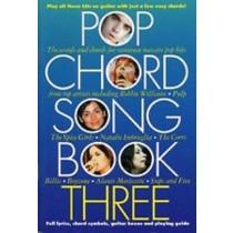 Pop Chord Songbook Three Learn Play Guitar Chords Lyrics Guide 17 Hits Book S148