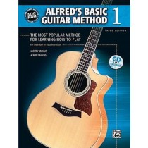 Alfred's Basic Guitar Method 1 Morty Ron Manus Tutor Learn To Play CD Book S123