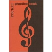 Pocket Practice Book School 18 Lessons Manuscript Musical Instrument Book S169