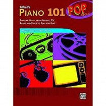 Alfred's Piano 101 Pop Book 2 Popular Music from Movies TV Radio & Stage B55