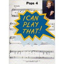 I Can Play That Pops 4 Book Easy Piano Backstreet Boys Celine Dion R Kelly S148