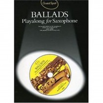 Guest Spot Ballads Alto Saxophone Solo Sheet Book Playalong CD Jack Long S90