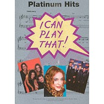 I Can Play That! Platinum Hits Book Very Easy Piano Arrangements Chords B42