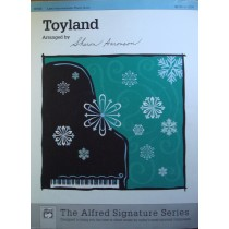 Alfred Signature Toyland Herbert Piano Solo Sheet Music Christmas Book S93
