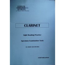 LCM Clarinet Sight Reading Practice Specimen Exam Tests Book S145