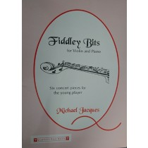 Fiddley Bits for Violin & Piano Concert Pieces Young Player Music Book S172