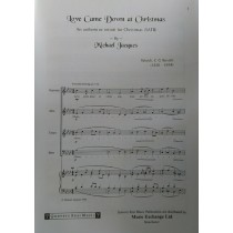 Michael Jacques Love Came Down At Christmas SATB & Piano Sheet Music Book S133