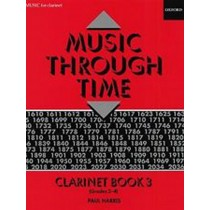 Music Through Time Clarinet Book 3 Grades 3-4 Sheet Music Book B25