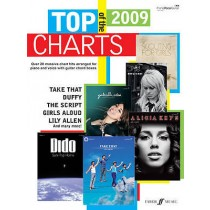 Top of the Charts 2009 Book Piano Vocal Guitar Massive Hits Faber Music B