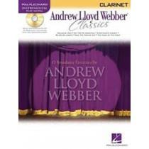 Andrew Lloyd Webber Classics Clarinet Sheet Music Book Playalong CD B29