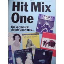 Hit Mix One Piano Vocal Guitar Book Nineties Classic Chart Hits Songbook S18