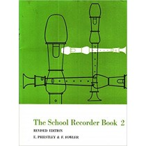 The School Recorder Book 2 Sheet Music Revised Edition Priestley & Fowler S155