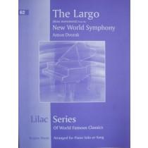Lilac Series No 62 Largo New World Symphony Dvorak Piano Sheet Music Book S27