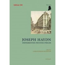 Joseph Haydn Piano Differentes Petites Pieces Edition HH Sheet Music Book S30