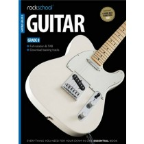 Rockschool Guitar Grade 8 2012-2018 Exam Music Book D/L Full Notation Tab S29