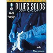 Blues Solos For Guitar Tutor Learn To Play Book CD B B King Clapton Vaughan B21