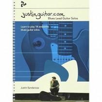 Justinguitar.com Blues Lead Guitar Solos Learn to Play Songbook Sandercoe S120