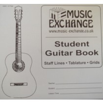 Student Guitar Music Book Tab Chord Grids Stave Manuscript Paper Theory Pad S108
