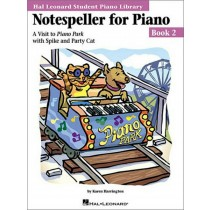 Notespeller for Piano Book 2 Visit to Piano Park Learn to Play Exercise Book S69