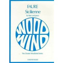 Faure Sicilienne for Flute & Piano Separate Accompaniment Sheet Music Book H2