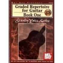 Graded Repertoire for Classical Guitar Book 1 & CD S. Yates Series H2