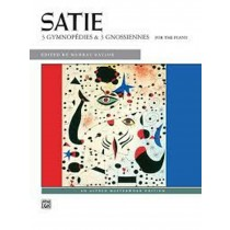Satie 3 Gymnopedies & 3 Gnossiennes for the Piano Sheet Music Book H2
