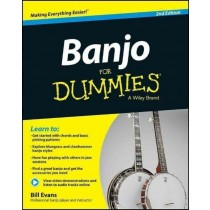 Banjo for Dummeis Learn To Play Tutor Book Beginner H3