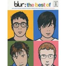 The Best of Blur Sheet Music Book PVG Chord boxes Lyrics H3