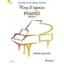 Play it Again Piano Book 2 Melanie Spanswick Sheet Music Book H4