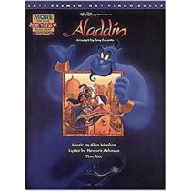 Aladdin Late Elementary More For Your Method Piano Book Disney Soundtracks S96