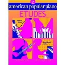 American Popular Piano Etudes 2 Book Chris Norton Trad Skills Popular Styles 156