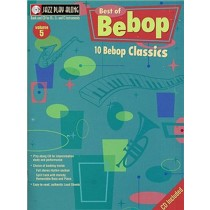 Best Of Bebop Classics Jazz Playalong Vol 5 Book & CD Bb Eb C Instruments S166